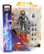 Marvel Select Captain Marvel Starforce Uniform Version Action Figure