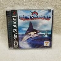 Saltwater Sportfishing Take 2 Sony Playstation 1 PS1 Brand New Sealed! Hang Tab