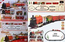Holiday Express Festiv Train Set Light/Sound &batery(SI-TY1018E.large Christmas