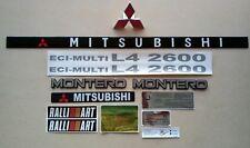 MITSUBISHI MONTERO 1985 - 93 EMBLEMS