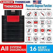 Thinkdiag OBD2 Scanner Full System Diagnosis Code Reader ABS SRS TPMS ECU Coding
