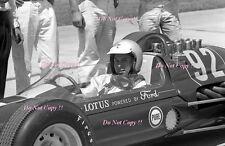 Jim Clark Lotus Ford 29/3 Indianapolis 500 1963 Photograph 4