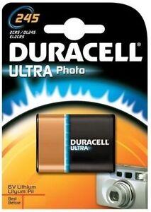 1 x Duracell Ultra Lithium Photo DL 245A 2CR5, 1 x 1er Blister, bis 2021
