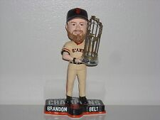 BRANDON BELT San Francisco Giants Bobble Head 2014 WS Champs Trophy MLB NIB**
