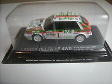 1/43 LANCIA DELTA HF 4 WD TOPTIP RALLYE 1987