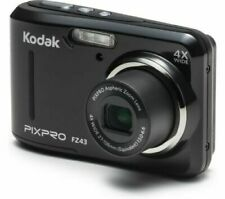 KODAK PIXPRO FZ43 Compact Camera - Black with pouch.