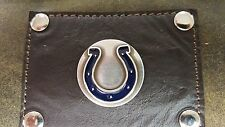 Indianapolis Colts 3 Piece Leather Luggage Set- Duffle, Messenger & Travel Kit