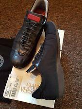Men Gianni Versace Shoes Uk Size 8.5 Eu 42.5 Superb Condition Authentic