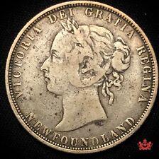 1882H Newfoundland 50 Cents - F12 - Lot#1180