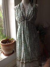 Womens Saltwater Mint Patterned Dress Size 12