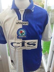 "Blackburn Rovers 1998 Shirt  Size 38/40"" Adult"