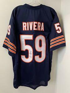 Ron Rivera Signed Chicago Bears Jersey Beckett BAS COA SB XX 1985 FREE SHIP