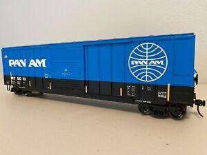 """Atlas 2001082-1 :: Pan Am ACF 50'6"""" Boxcar - 2 Rail """"O"""""""