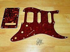 Fender Usa Tortoise Shell 3 Ply Lone Star Stratocaster Pickguard & Tremolo Cover
