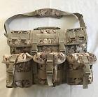 Desert Digital MOLLE Military Field Briefcase MARINE Tactical Computer Bag