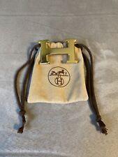 Hermes Belt Buckle Constance H 18k Gold Polished 32mm Belts Mens Womens