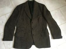 """Vintage Country Dunn & Co Harris Tweed Jacket 100% Wool 40"""" Excellent Condition"""