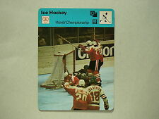 1977 1977/79 SPORTSCASTER HOCKEY PHOTO TEAM CANADA WILF PAIEMENT MARIAN STASTNY