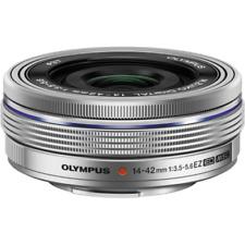 Olympus 14-42mm EZ ED MSC Zoom Objektiv Silber: BRANDNEU zwei (2) Jahr Garantie