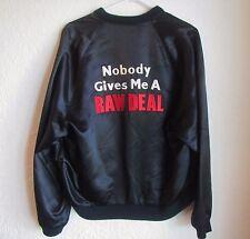 Raw Deal Arnold Schwarzenegger Official Movie Set Promo Satin Jacket Coat 80's