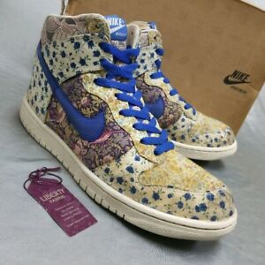 MILKFED x Nike WMNS Dunk High Premium Liberty Shoes Used US10 Authentic JAPAN