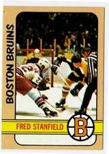 1972-73 Topps FRED STANFIELD (ex-) Boston Bruins