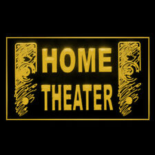 170092 Home Theater Speaker Hi Fi Audio Display Led Light Sign