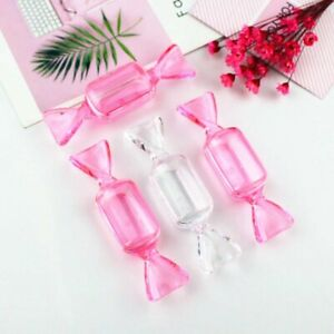 Empty Cream Jar Candy Shape Cosmetic Jars Makeup Lip Balm Box Travel Container