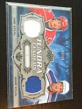 2008-09 Artifacts Tundra Tandems #TT-EM Eric Staal/Marc Staal Dual Jsy /50