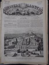 1862 ALGERIE VUE PANORAMIQUE LAGHOUAT PTOTOGRAPHIE JEAN STOCKER