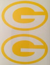 Green Bay Packers Decal 2 Pack**FREE SHIPPING**