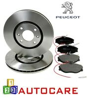 Front Brake Discs & Pads For Peugeot 406 283mm