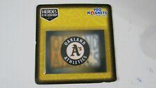 VTG OAKLAND ATHLETICS MLB Licensed Baseball fridge locker magnet 3.5 x 2.5 NEW