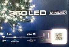 Lotti Catena 360 miniled con Controller Bianco Freddo Luci Natale