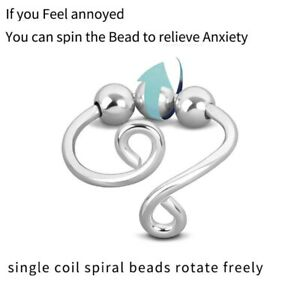Fidget Rings for Anxiety Ring for Women Spinner Inspirations Anxiety Beads Rings