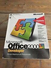 Microsoft Office 2000 Developer, Retail, Deutsch mit MwSt Rechnung