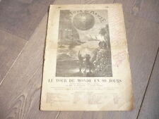 JULES VERNE RARE FASCICULE 1908 PIECE THEATRE TOUR DU MONDE