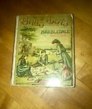 The Girls and Boys of Marble Dale,1888, by Mary Brine, illustrated