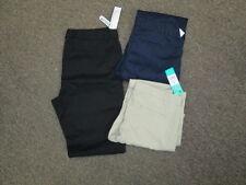 Juniors pants girls Khaki Navy Blue Black uniform George 3 5 7 15 New boot leg
