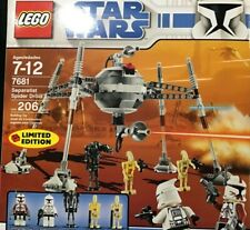 LEGO STAR WARS EXCLUSIVE LIMITED EDITION SEPRATIST SPIDER DROID 7681 NEW IN FSB