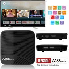 2018 Mecool M8S PRO L 3GB+16GB Android WiFi Octa Core Voice Control 4K TV Box UK