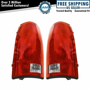 Tail Lights Set w/Circuit Board Left & Right Pair For 88-99 Chevy GMC Cadillac