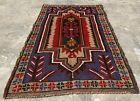 Authentic Hand Knotted Afghan Balouch Wool Area Rug 4 x 3 Ft (2486 HMN)