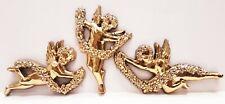 Valentine Cherubs with Flower Garlands Set of 3 Syroco Inc 1996 #3081