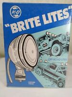 "Vintage K-D Lamp Co. ""Brite Lites"" Off Road Lights 846 Series SEALED Packaging!!"