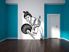 Baby Krishna Kano Wall Sticker Vinyl Hindu God Gopal Decal Stencil Art Gift