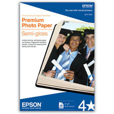 Genuine Epson S041982 4x6 primium semigloss 40 sheets photo paper new