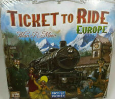 TICKET TO RIDE EUROPE- BOARD GAME - BRAND NEW FACTORY SEALED