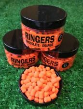 Ringers Washout 10mm 8mm 6mm Boilies Wafters or Bandem Hair rig Hook Bait Match
