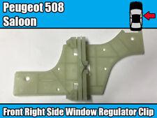 Clip Reparación Regulador de Ventana para Peugeot 508 Sedán Delantero Derecho Puerta Lateral